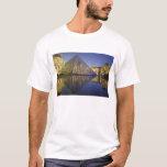 FRANCE, Paris Reflection, Pyramid. The Louvre T-Shirt