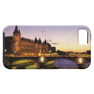 France, Paris, River Seine and Conciergerie at iPhone SE/5/5s Case