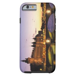 France, Paris, River Seine and Conciergerie at Tough iPhone 6 Case