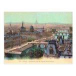 France, Paris, River Seine Post Card
