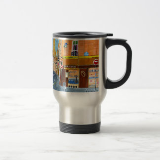France, Paris,Rue Dominique Travel Mug
