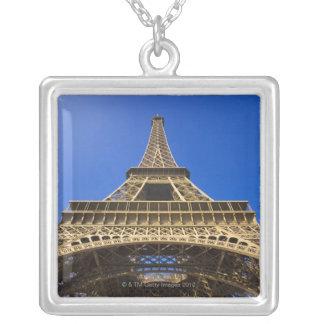 France, Paris Square Pendant Necklace