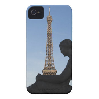 France, Paris, Statue of woman in front of iPhone 4 Cover