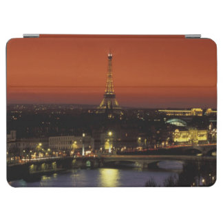 France Paris Sunset view of Eiffel Tower and iPad Air Cover