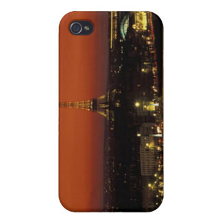 France, Paris Sunset view of Eiffel Tower and iPhone 4 Covers