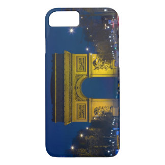 France, Paris. The Arc de Triomphe and the iPhone 8/7 Case