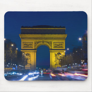 France, Paris. The Arc de Triomphe and the Mouse Pad