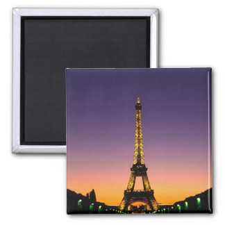 France, Paris, Tour Eiffel at sunset. Magnet