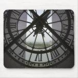 France, Paris. View across Seine River through Mouse Pad