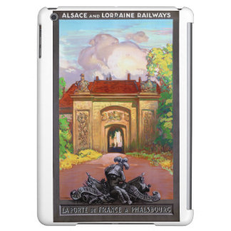 France Phalsbourg Restored Vintage Travel Poster iPad Air Cover