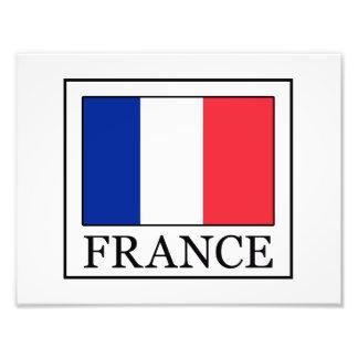 France Photo Print