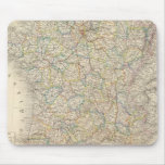 France physical, political mouse pad