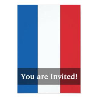 France Plain Flag Card