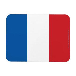 France Plain Flag Magnet