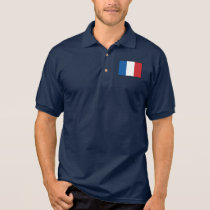 France Plain Flag Polo Shirt