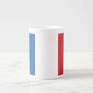 France Plain Flag Tea Cup