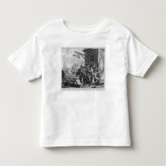 France, Plate I of 'The Invasion', 1756 Tee Shirt