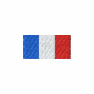 France polo shirt - Embroidered French flag