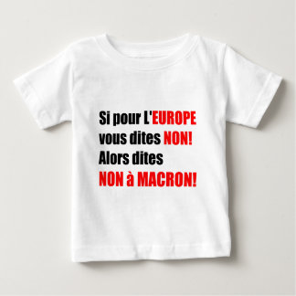 France Presidential Elections 2017 - Baby Tee