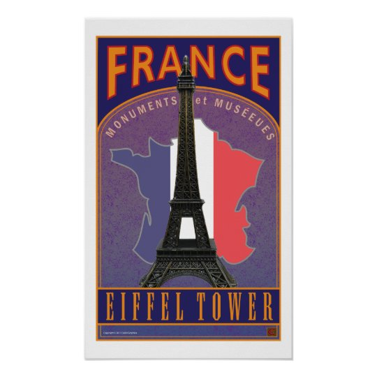 France-Print Poster