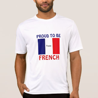 France: Proud to be French Tshirt