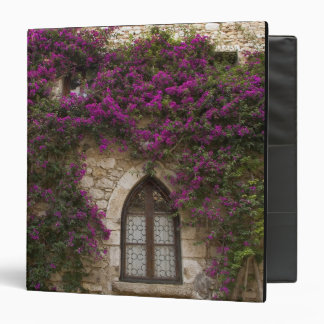 France, Provence, Eze. Bright pink Binders