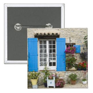 France, Provence, Saint-LÈger-du-Ventoux. Pinback Button
