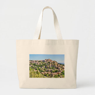 France Provence Sault Village Large Tote Bag