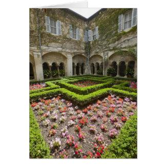 France, Provence, St. Remy-de-Provence. Garden Card