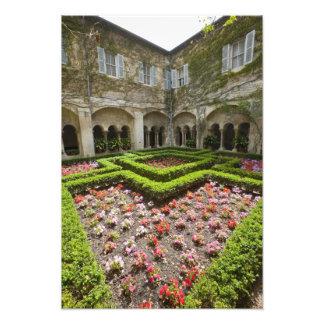 France, Provence, St. Remy-de-Provence. Garden Photo Print