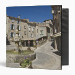 France, Provence, Valensole. Tourists explore Binder