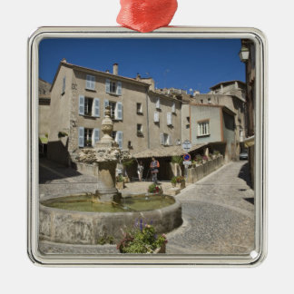 France Provence Valensole Tourists explore Christmas Ornament