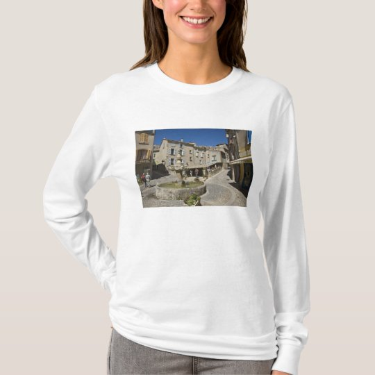 France, Provence, Valensole. Tourists explore T-Shirt