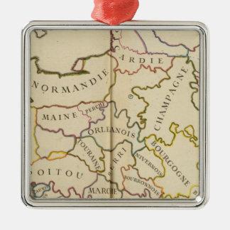 France, Providences and Boundaries Christmas Tree Ornament