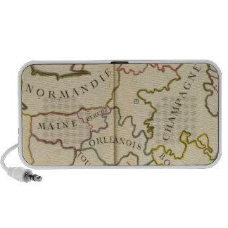 France, Providences and Boundaries Portable Speaker