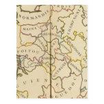 France, Providences and Boundaries Postcard