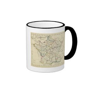 France provinces coffee mugs