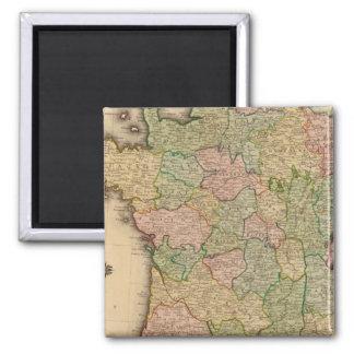 France, provinces magnet