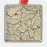 France provinces metal ornament