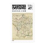 France provinces postage stamp