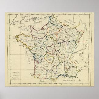 France provinces print