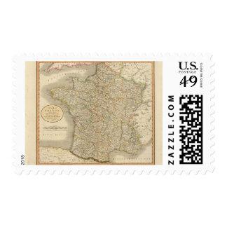 France Provincial Boundaries Postage