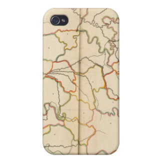 France Reivers Outline iPhone 4 Cover