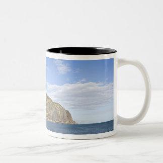 France, Reunion Island, St-Denis, view of La Two-Tone Coffee Mug