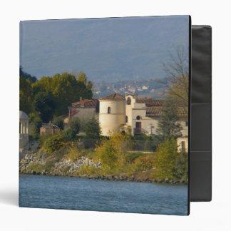 France, Rhone River, town near Vienne 2 Binder