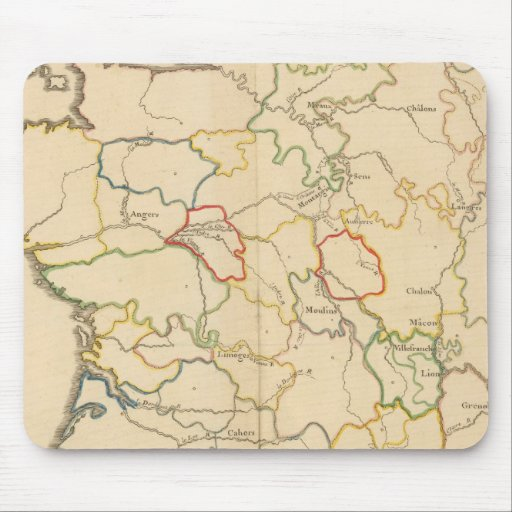 France Rivers Mouse Pad