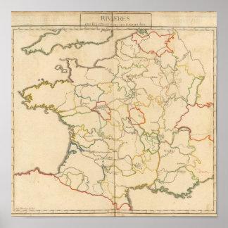 France Rivers Print