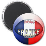 France Rugby Ball Refrigerator Magnets
