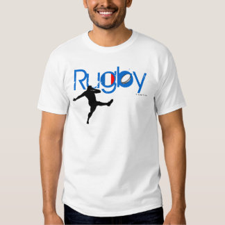 France Rugby Fans T-Shirt Kick