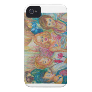 France - scenery of family - after the party iPhone 4 case